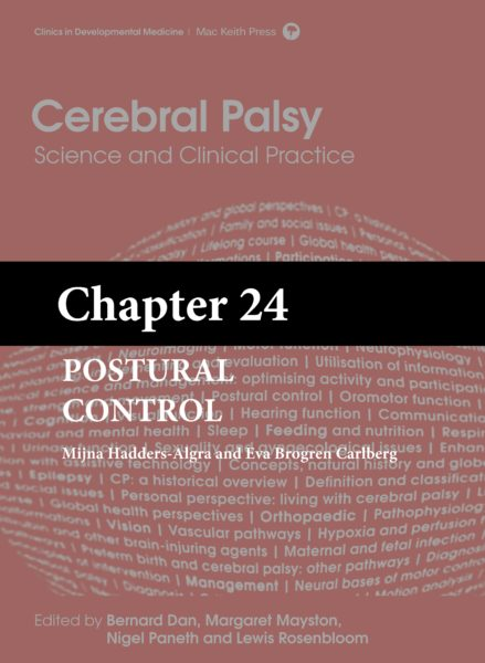 Cerebral Palsy: Science and Clinical Practice – (Chapter 24) – Postural Control