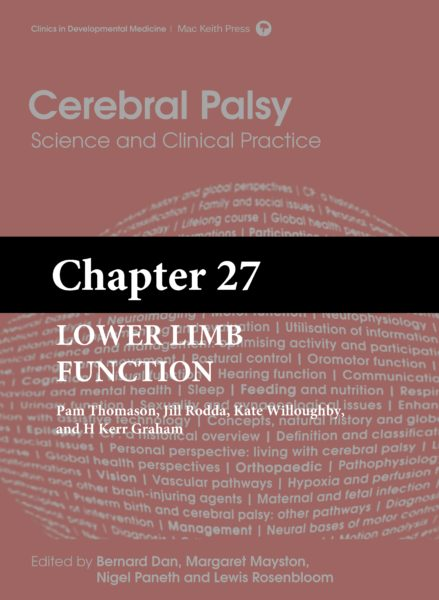 Cerebral Palsy: Science and Clinical Practice – (Chapter 27) – Lower Limb Function