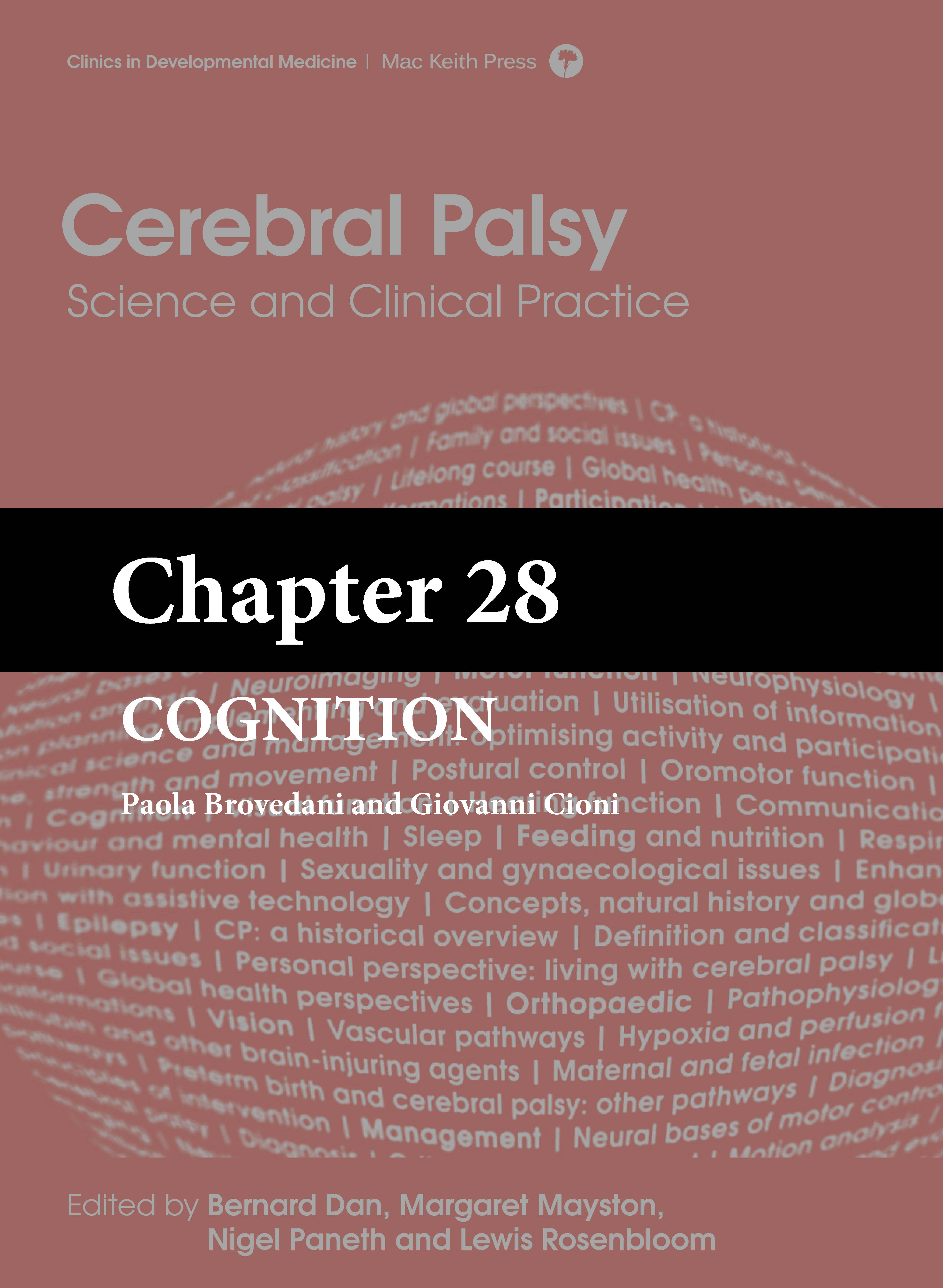 Mac Keith Press book Cerebral Palsy Science and Clinical Practice Dan