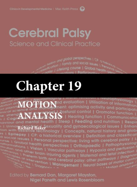 Cerebral Palsy: Science and Clinical Practice – (Chapter 19) – Motion Analysis