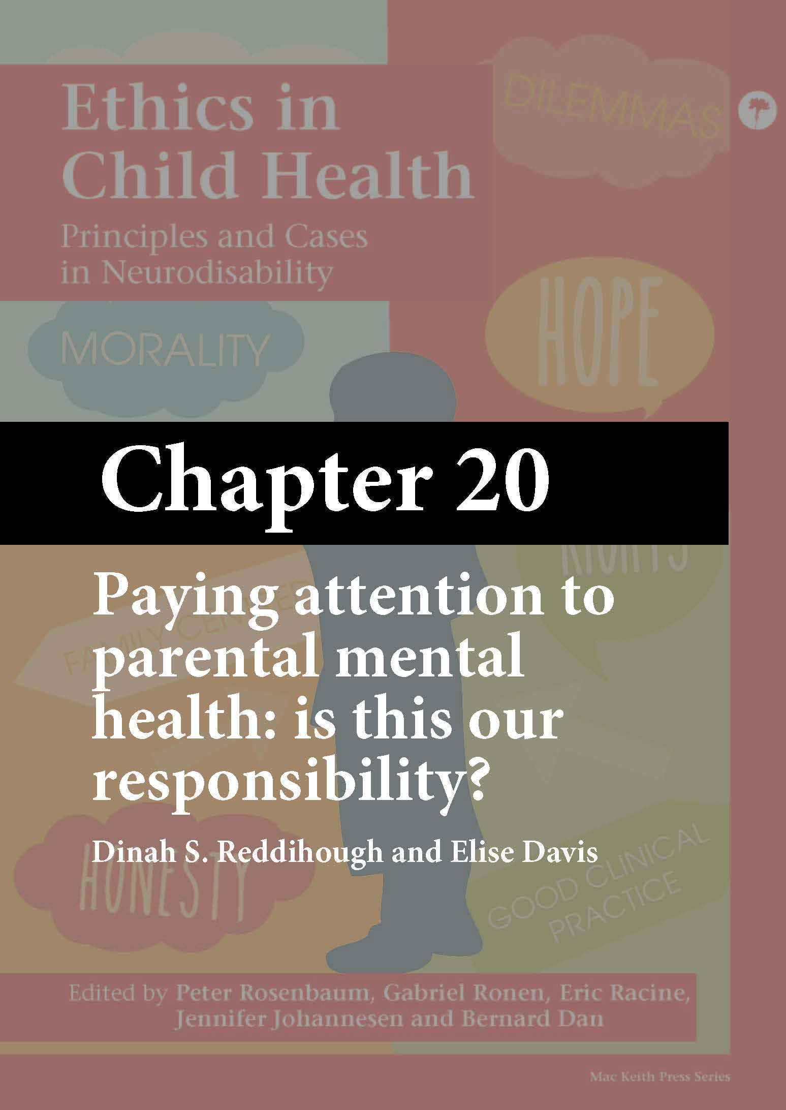 Ethics in Child Health, Rosenbaum, Chapter 20 cover