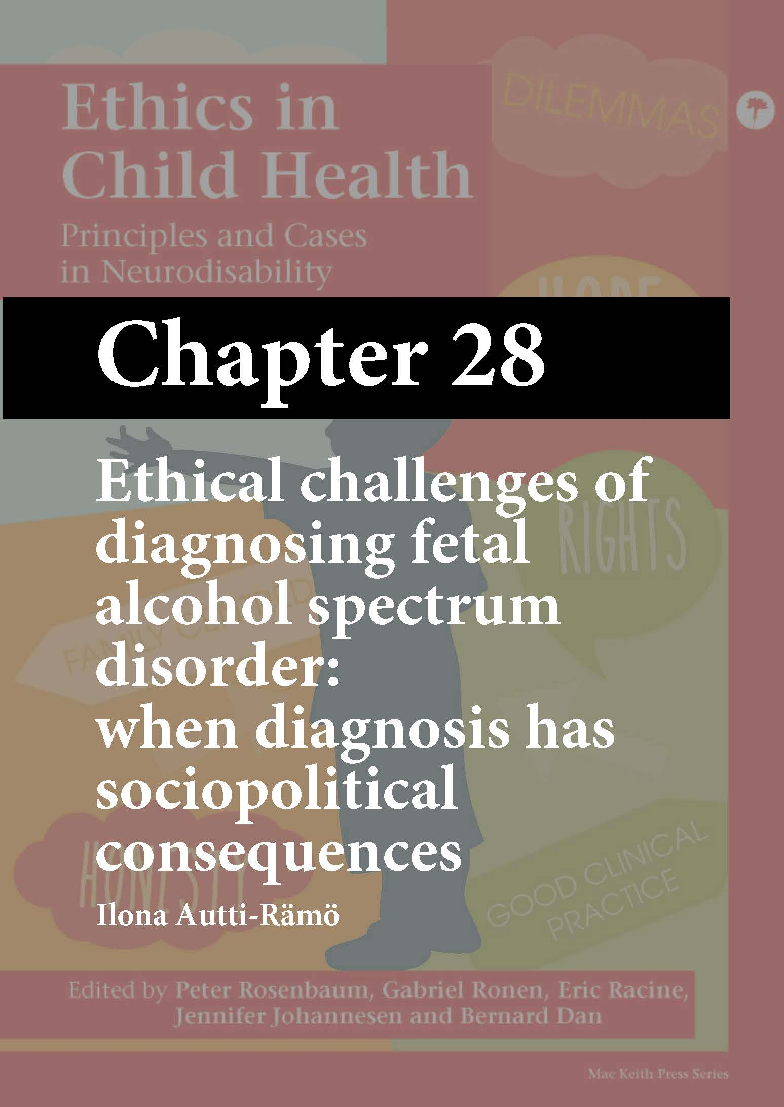 Ethics in Child Health, Rosenbaum, Chapter 28 cover