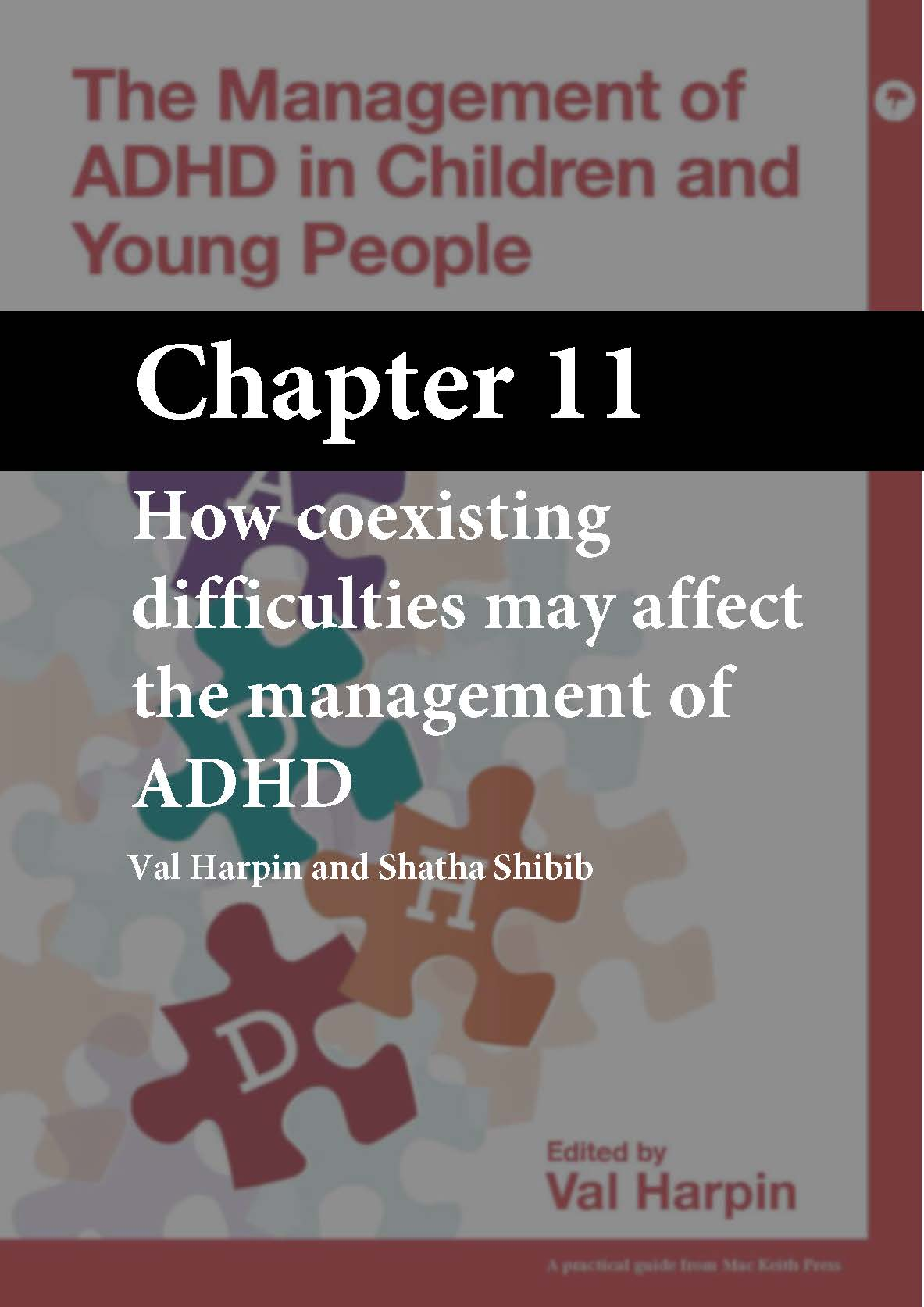 The Management of ADHD in Children and Young People, Harpin, Chapter 11 cover