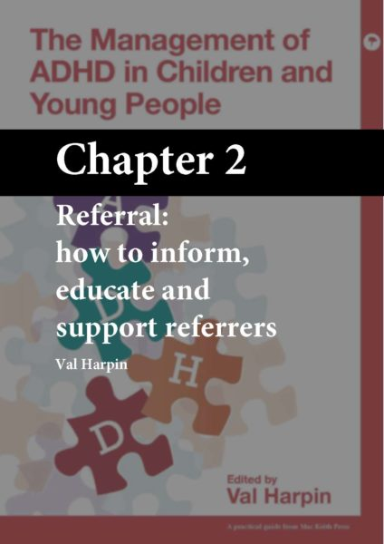 The Management of ADHD in Children and Young People, Harpin, Chapter 2 cover