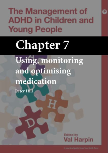 The Management of ADHD in Children and Young People, Harpin, Chapter 7 cover