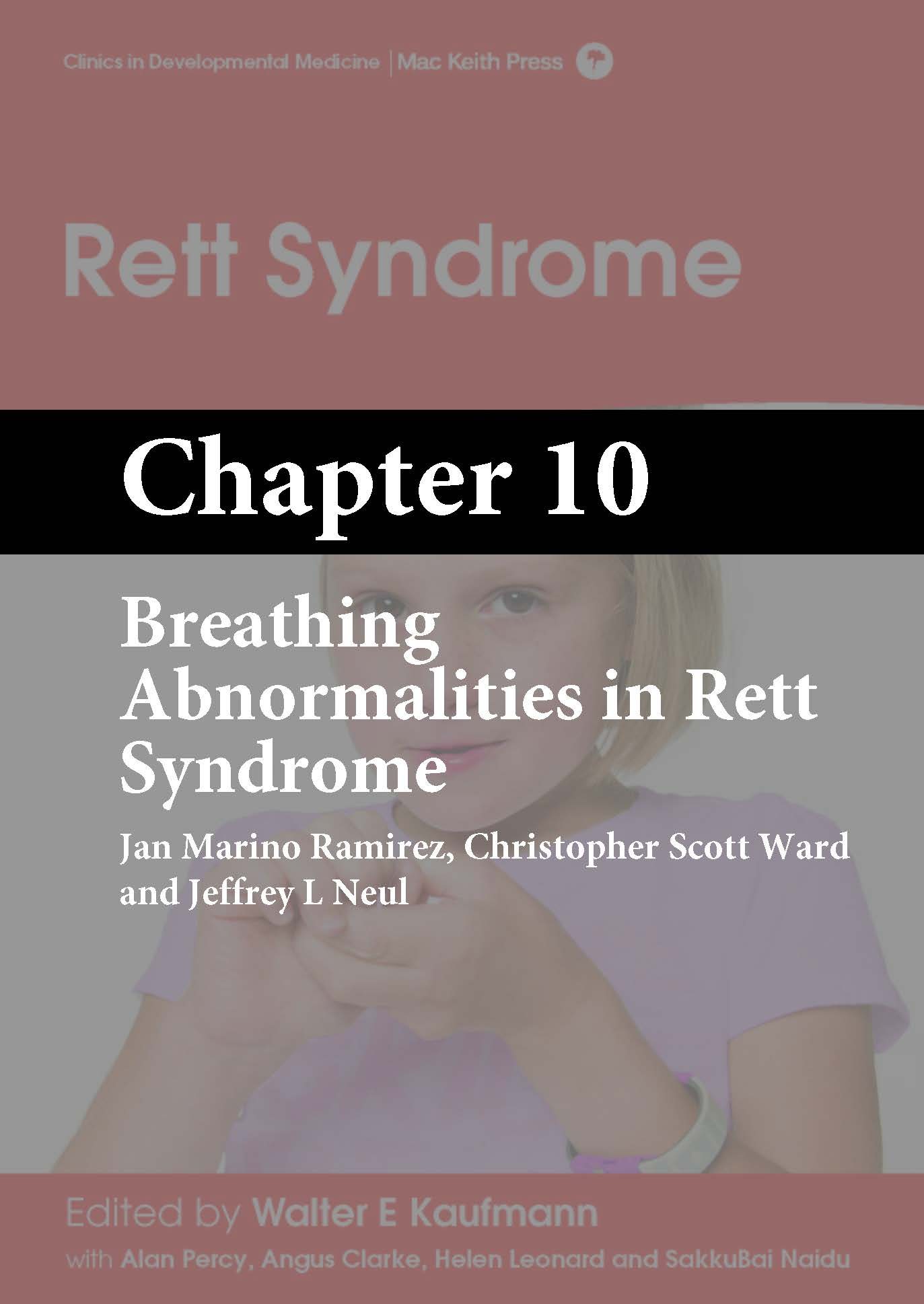 Rett Syndrome, Kaufmann, Chapter 10 cover