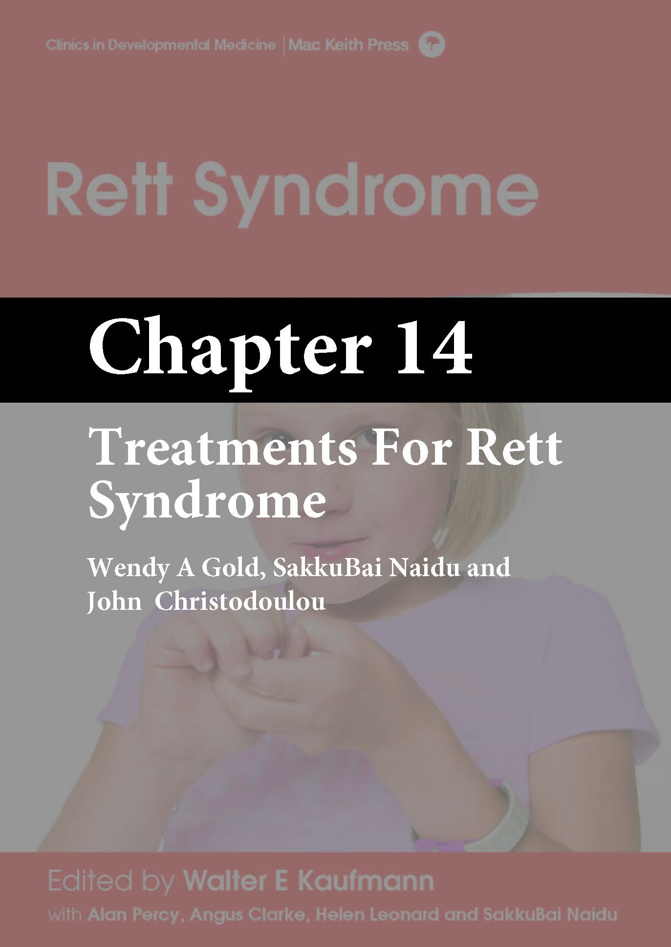 Rett Syndrome, Kaufmann, Chapter 14 cover