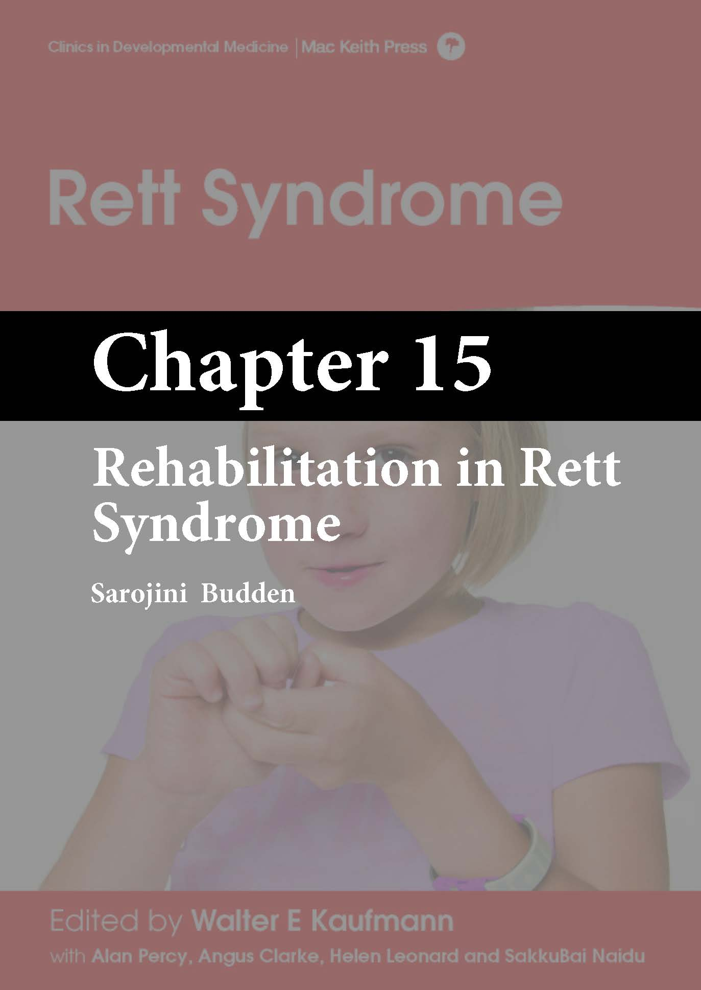 Rett Syndrome, Kaufmann, Chapter 15 cover