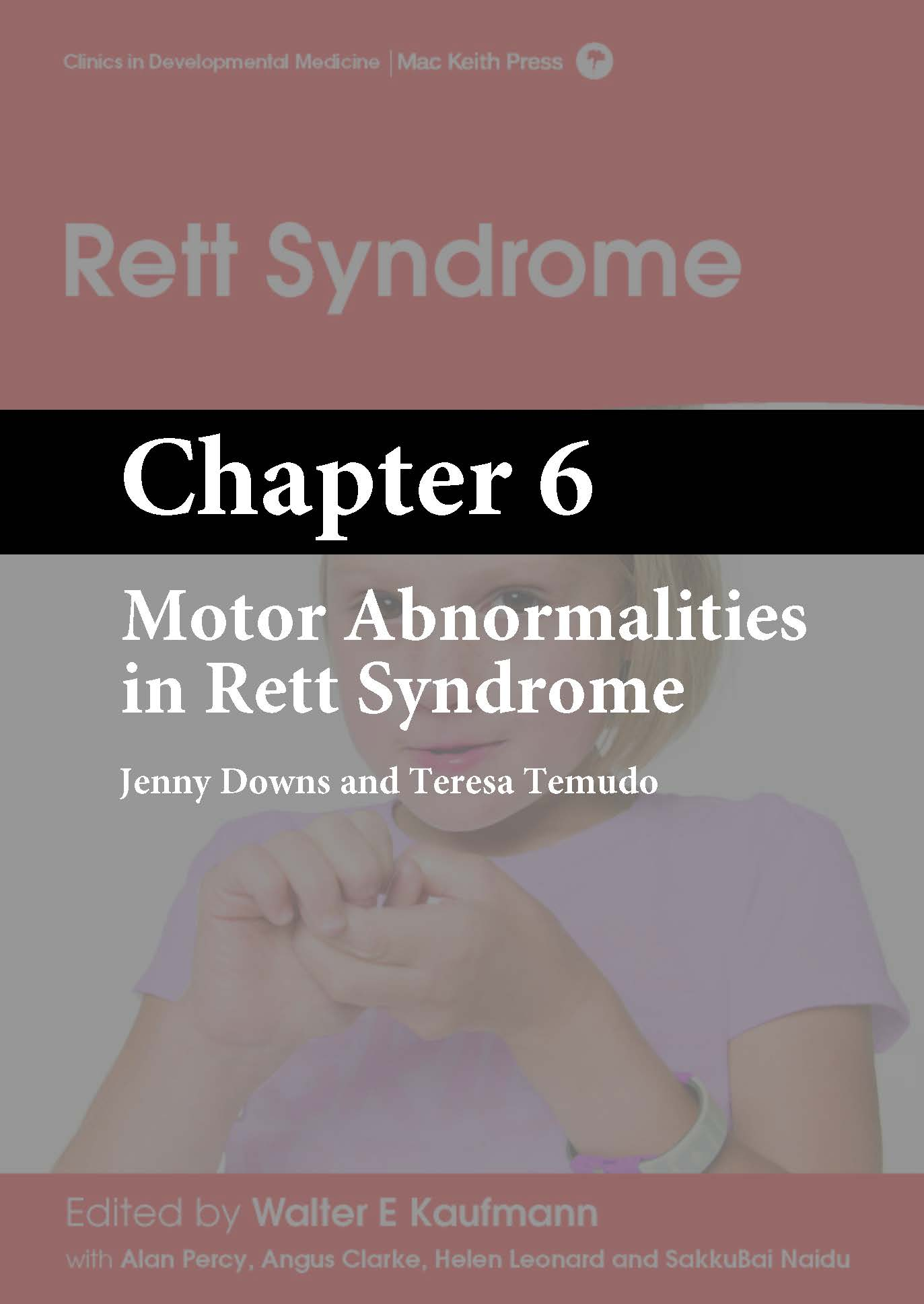 Rett Syndrome, Kaufmann, Chapter 6 cover