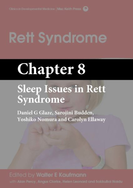 Rett Syndrome, Kaufmann, Chapter 8 cover
