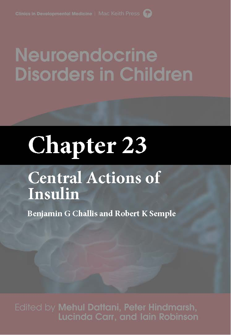 Dattani, Neuroendocrine Disorders in Children, Chapter 23 cover