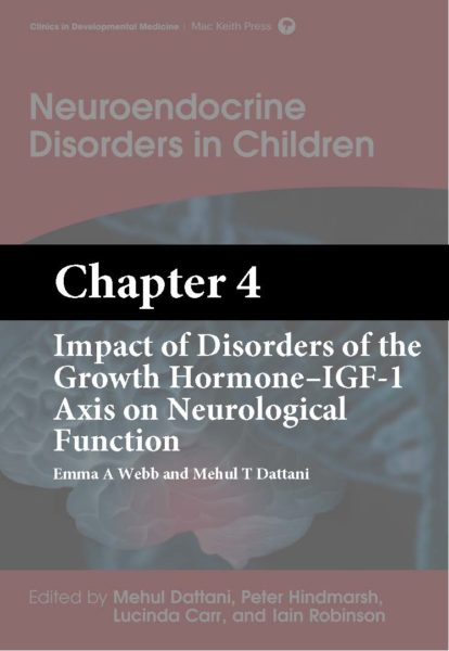 Dattani, Neuroendocrine Disorders in Children, Chapter 4 cover