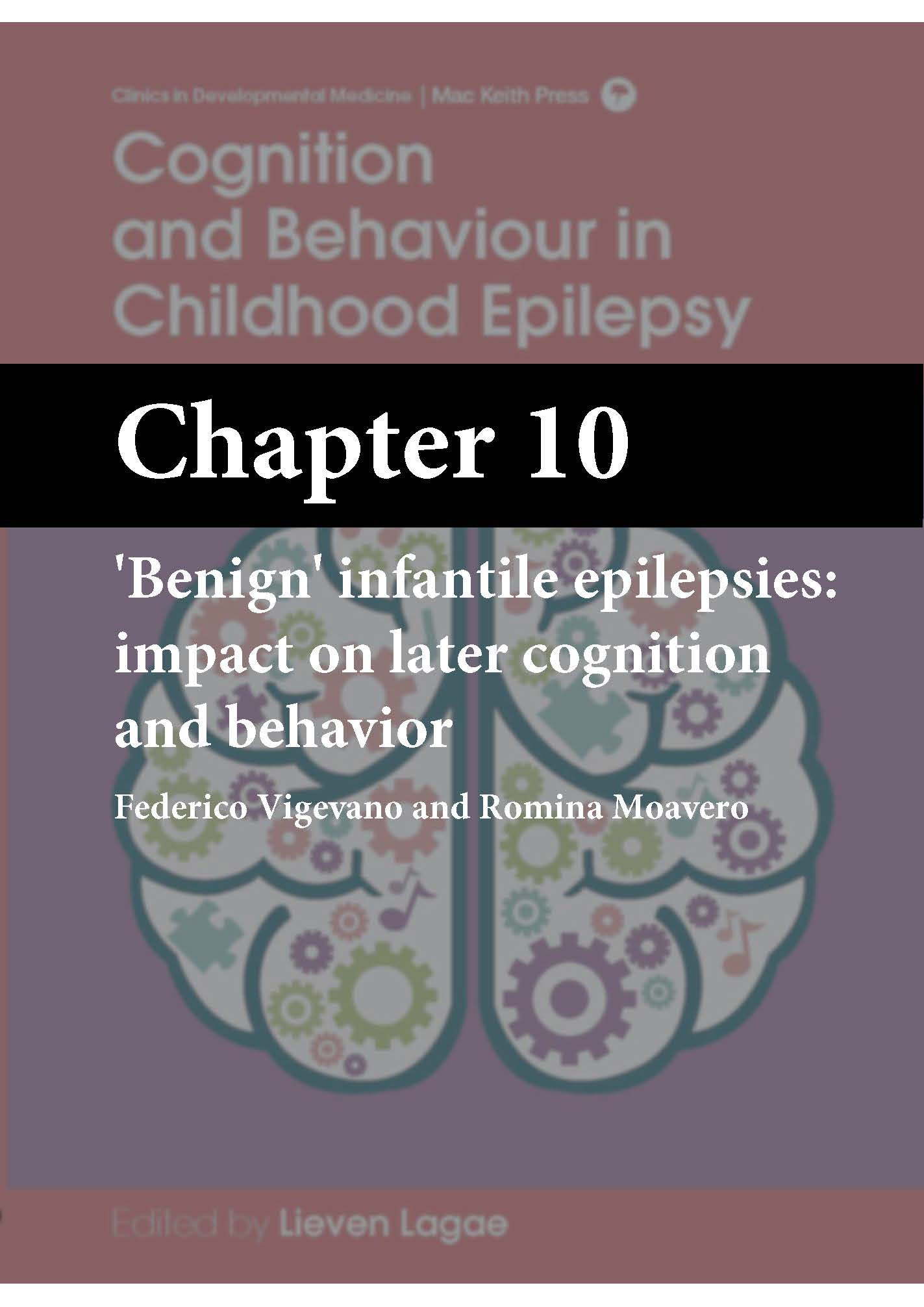 Cognition and Behaviour in Childhood Epilepsy, Lagae, Chapter 10 cover