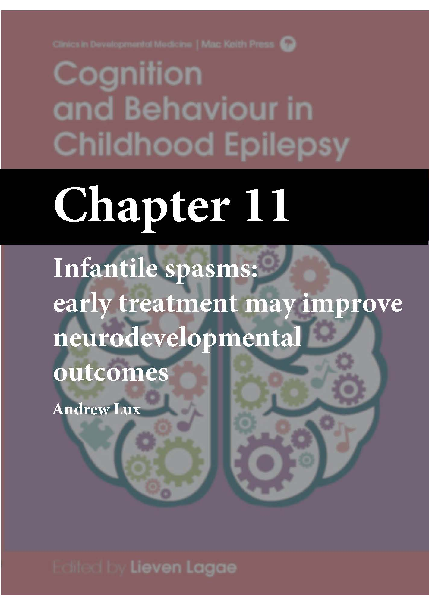Cognition and Behaviour in Childhood Epilepsy, Lagae, Chapter 11 cover