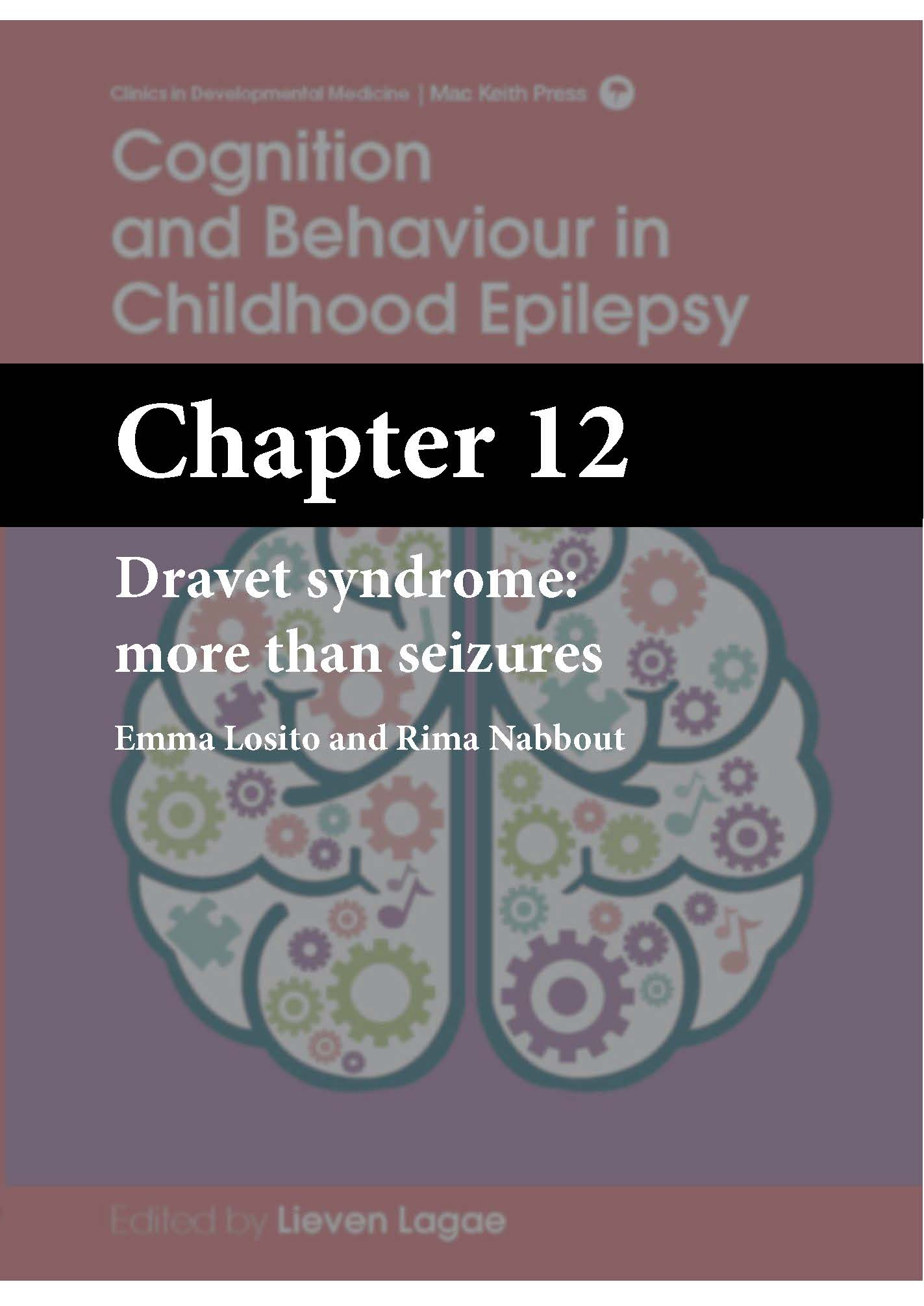 Cognition and Behaviour in Childhood Epilepsy, Lagae, Chapter 12 cover