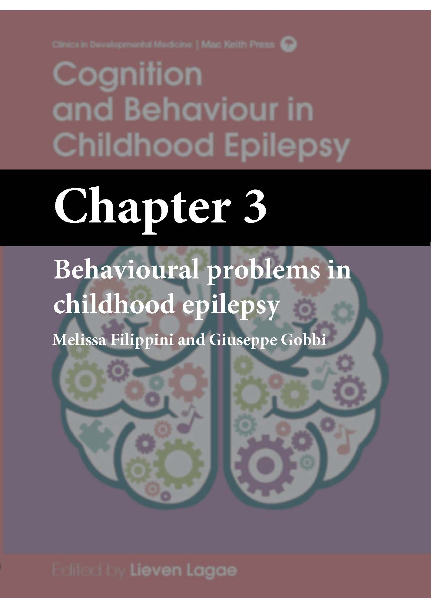 Cognition and Behaviour in Childhood Epilepsy, Lagae, Chapter 3 cover