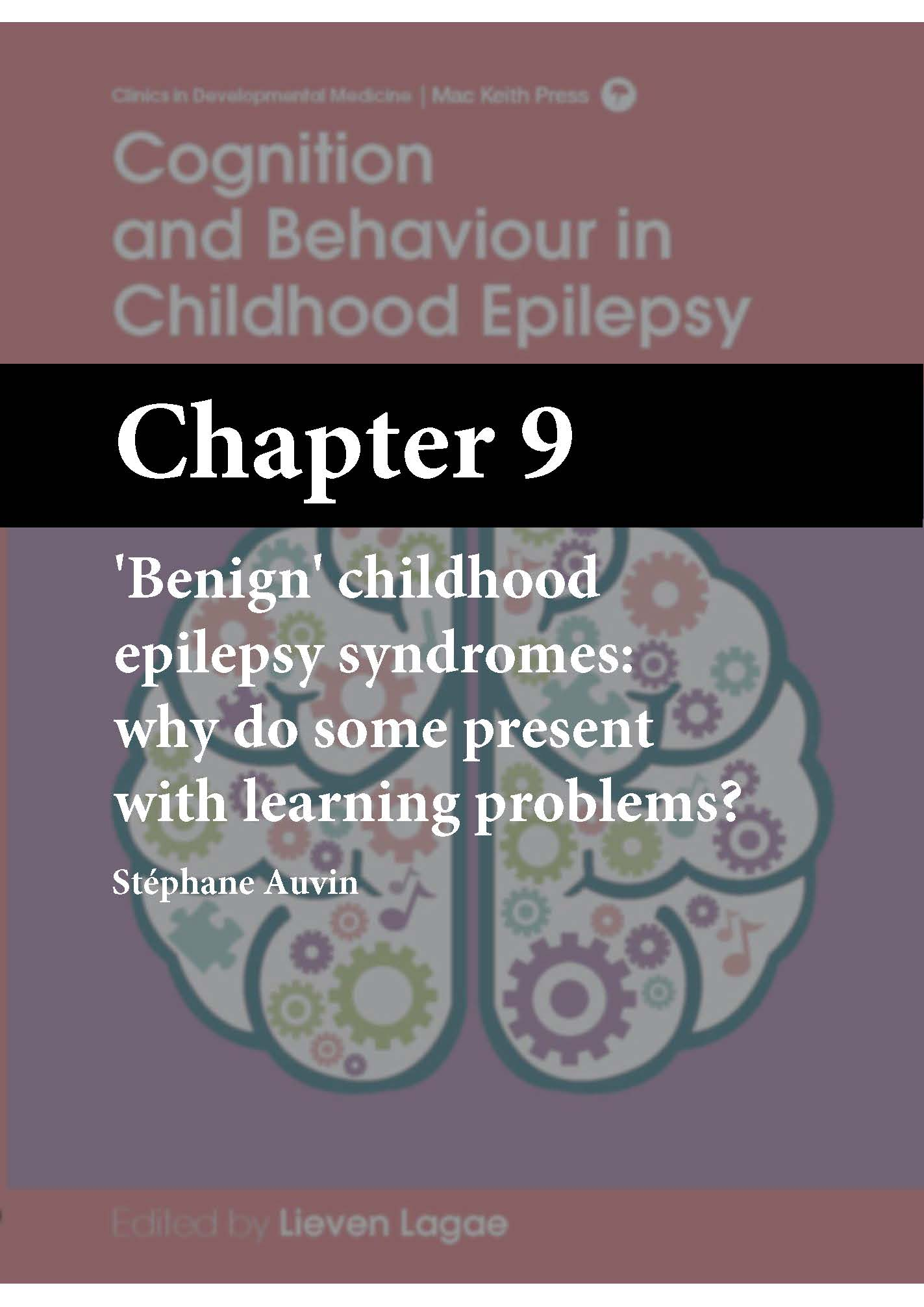 Cognition and Behaviour in Childhood Epilepsy, Lagae, Chapter 9 cover