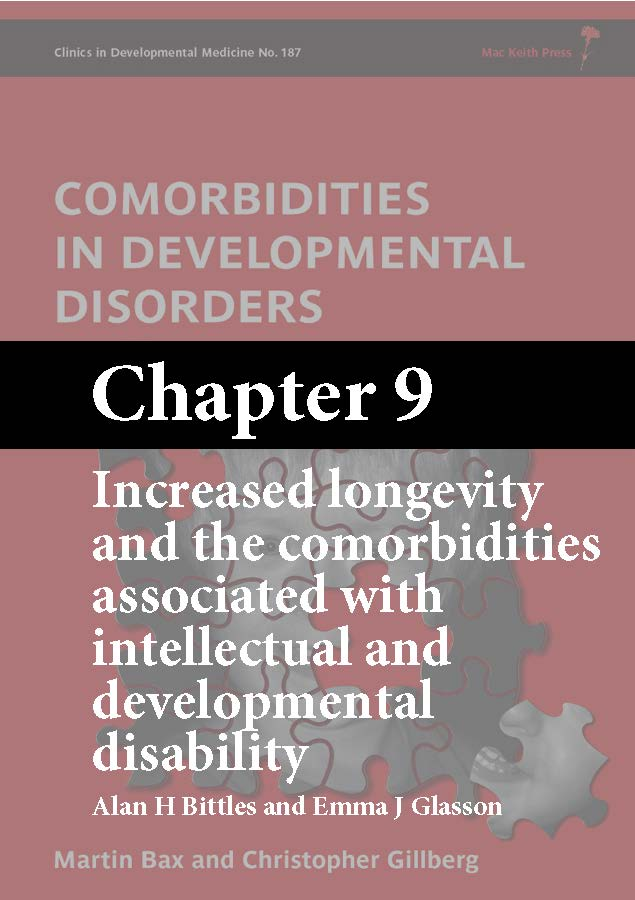Comorbidities in Developmental Disorders, Bax, Chapter 9 cover
