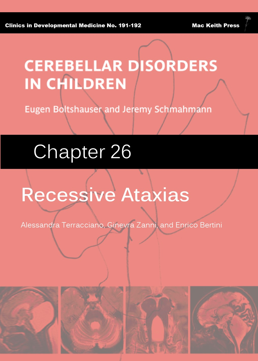 Recessive Ataxias - Cerebellar Disorders in Children (Chapter 26) COVER