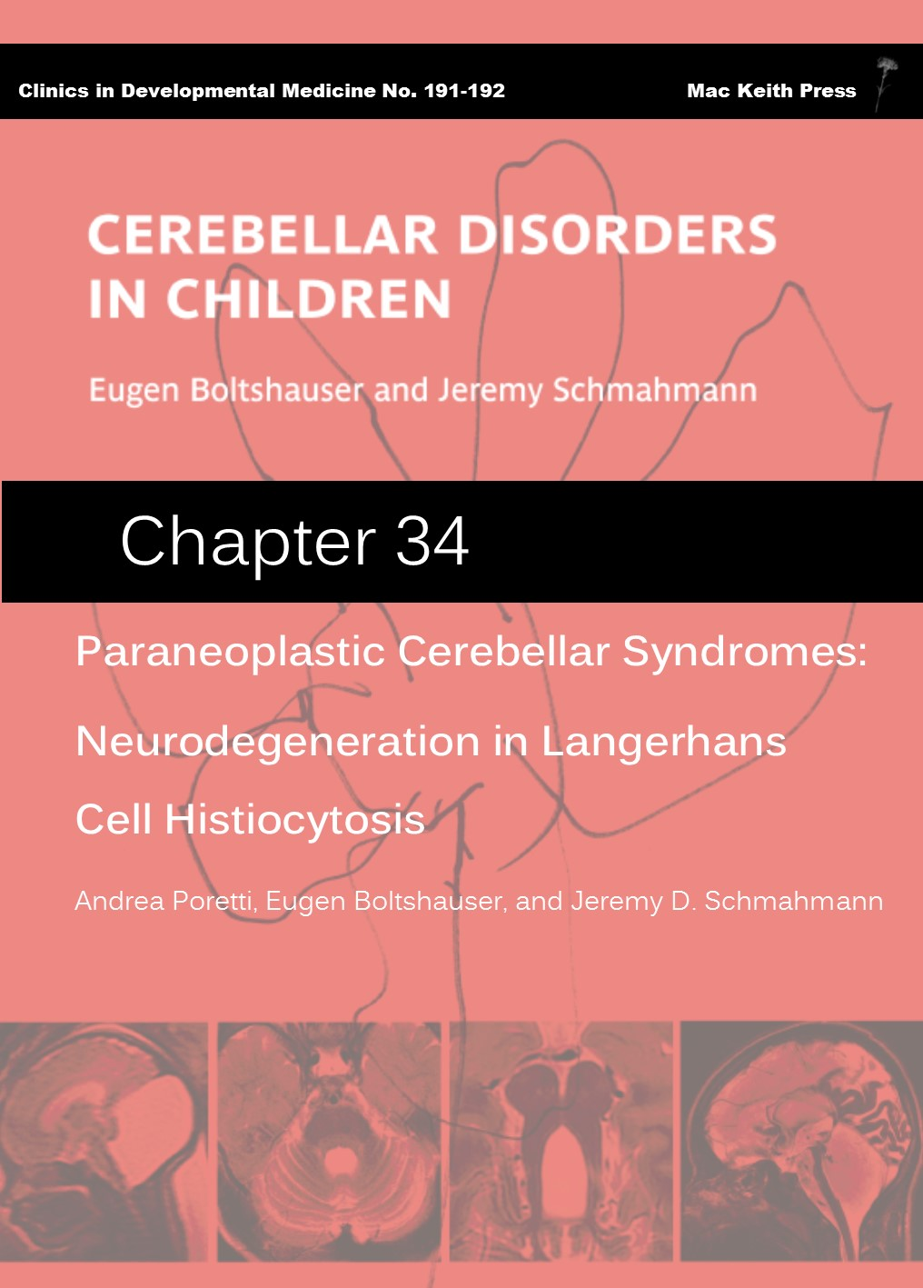 Paraneoplastic Cerebellar Syndromes - Cerebellar Disorders in Children (Chapter 34) COVER
