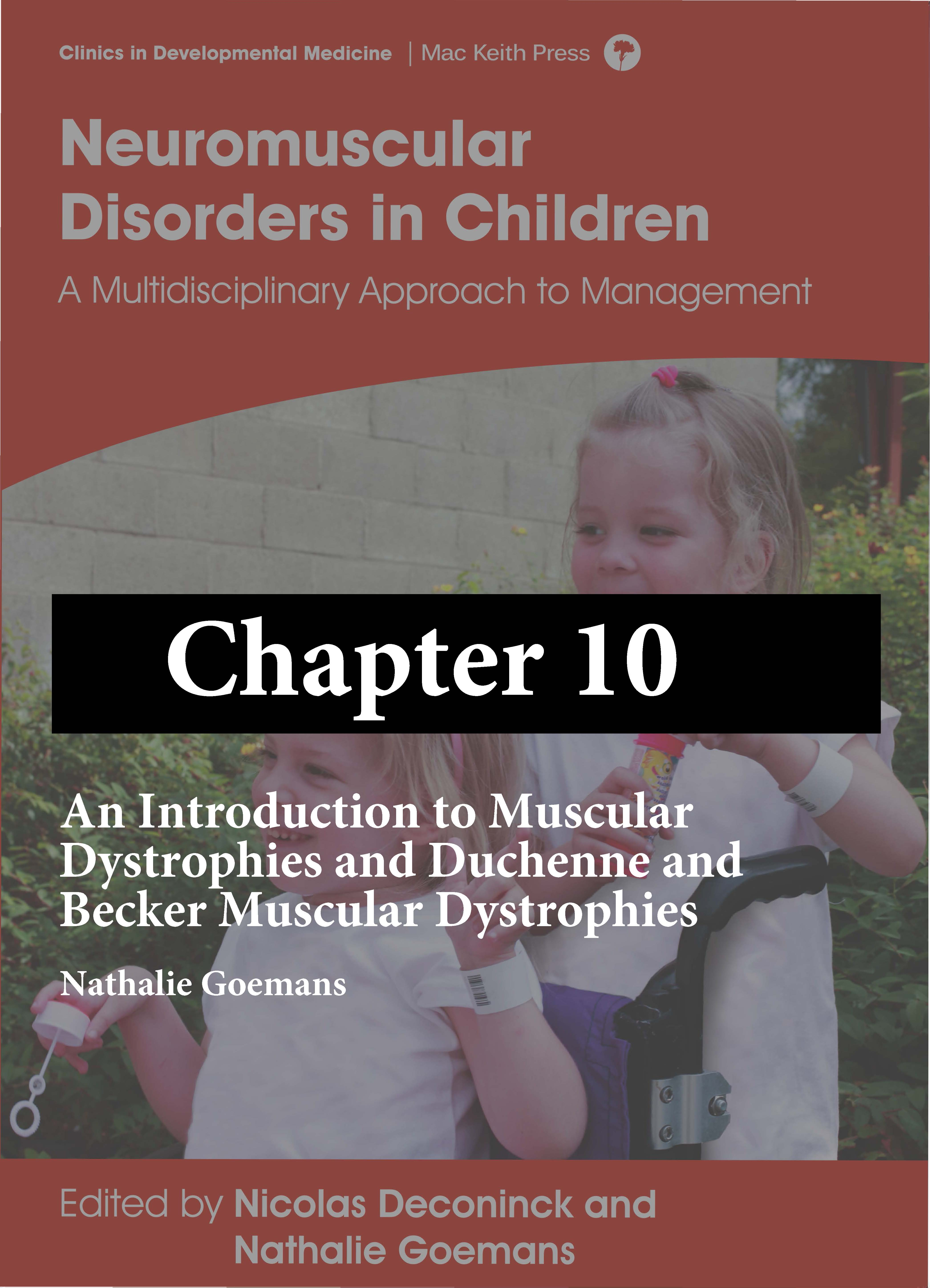 Neuromuscular Disorders in Children chapter 10