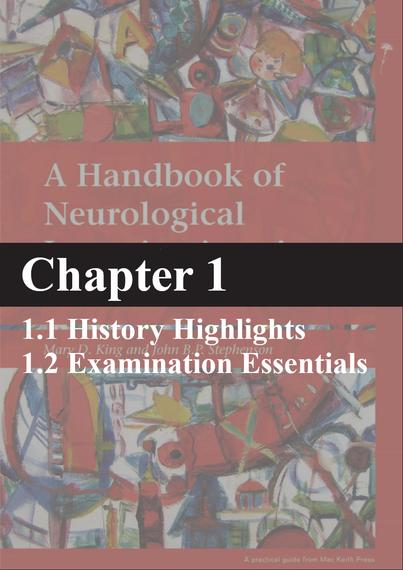 King, A Handbook of Neurological Investigations in Children