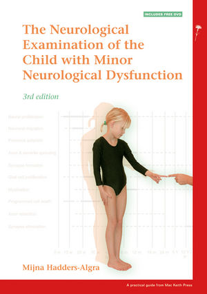 Hadders-Algra, Neurological Examination of the Child with Minor Neurological Dysfunction, 3rd Edition, Cover