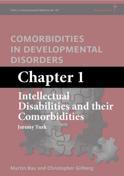 Mac Keith Press book, Intellectual Disabilities and their Comorbidities, Chapter 1 cover