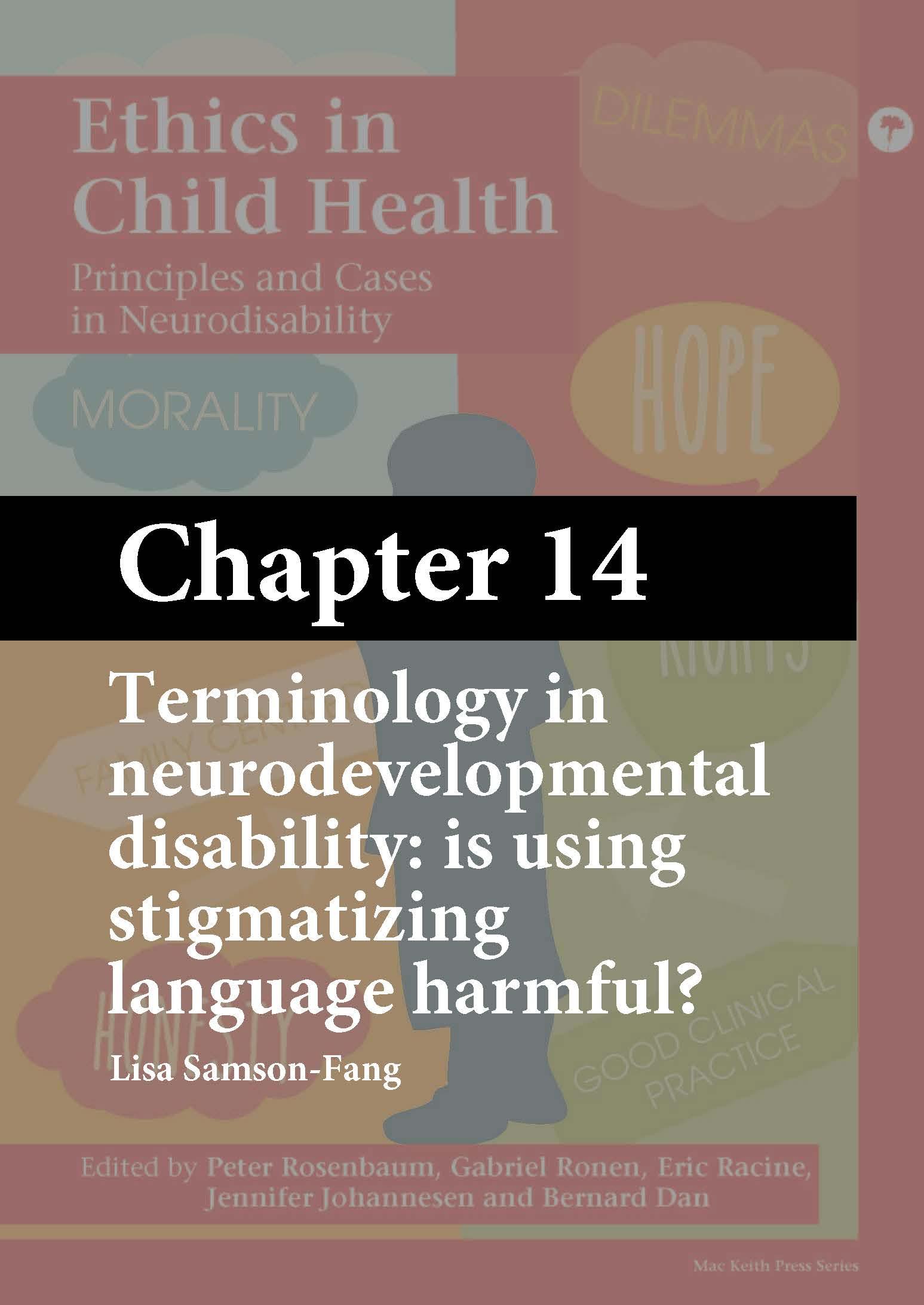 Ethics in Child Health, Rosenbaum, Chapter 14 cover