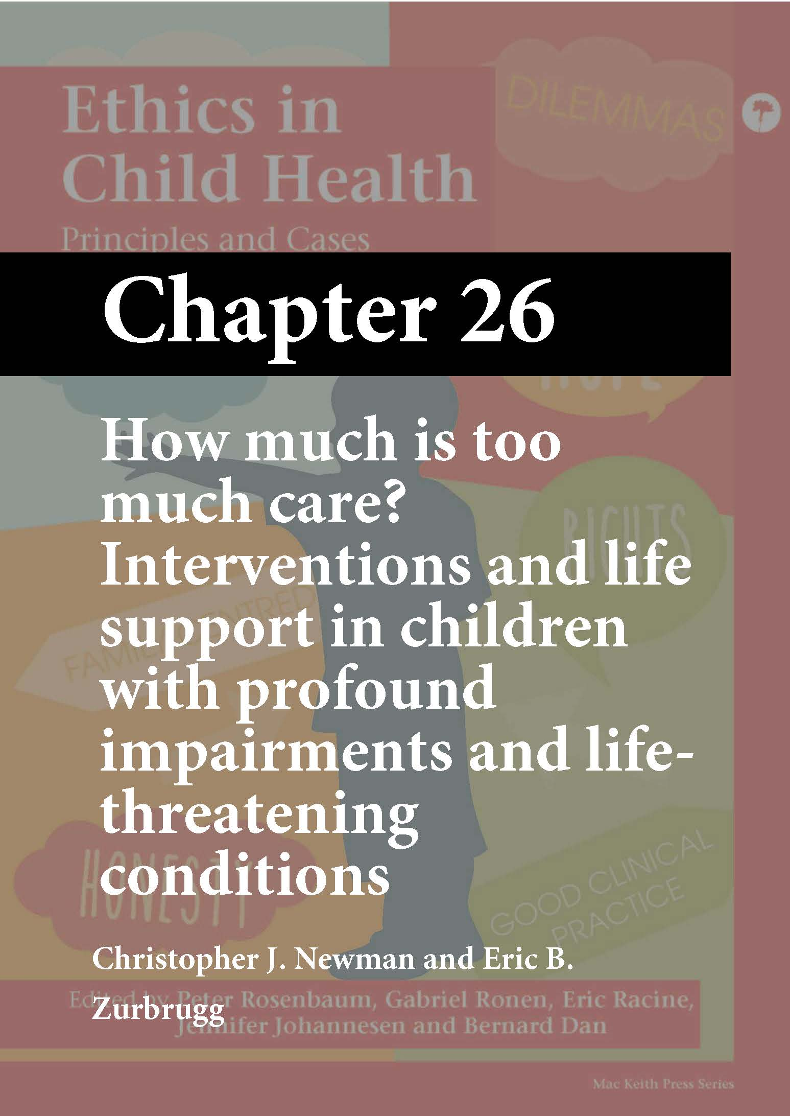 Ethics in Child Health, Rosenbaum, Chapter 26 cover