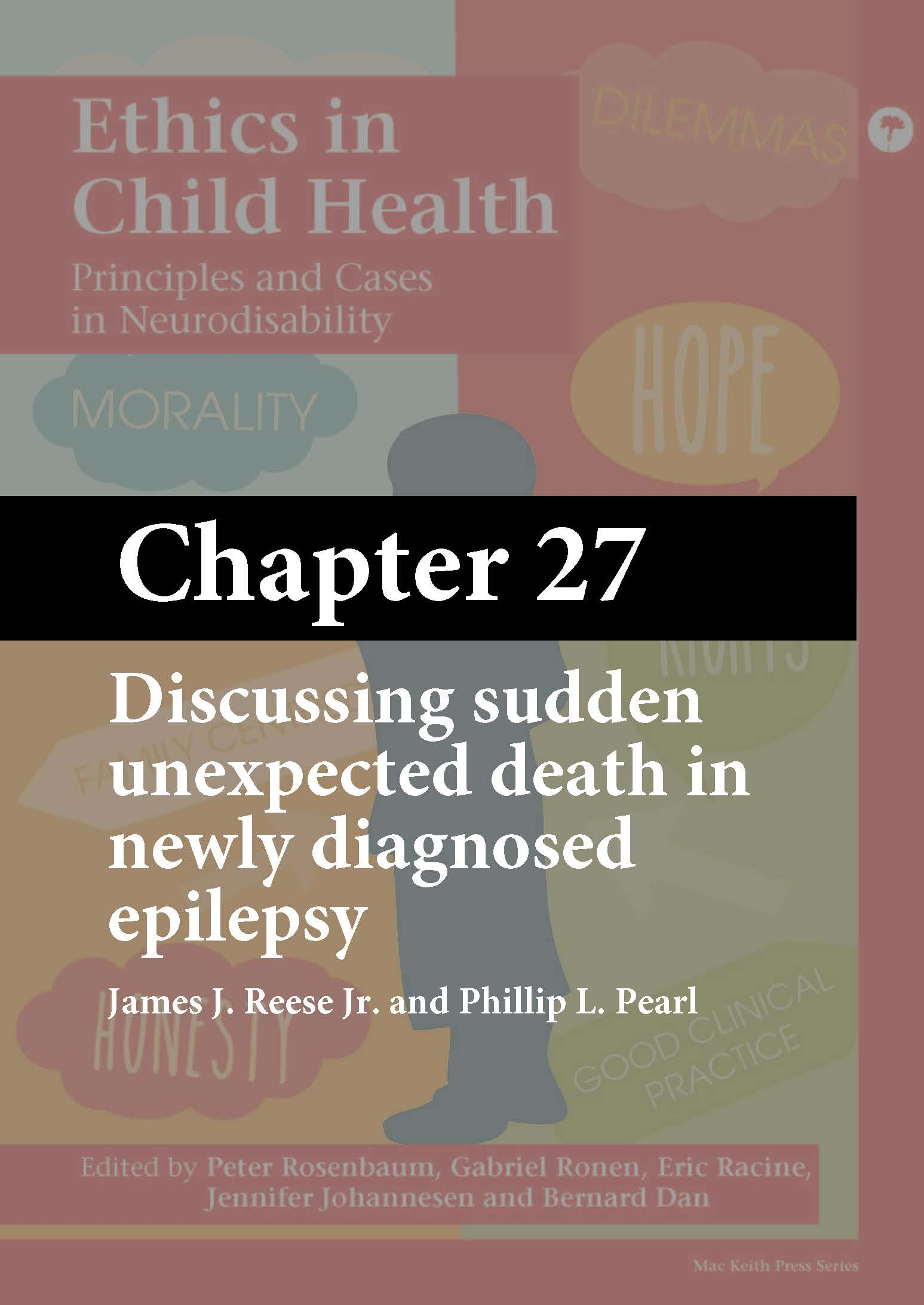 Ethics in Child Health, Rosenbaum, Chapter 27 cover