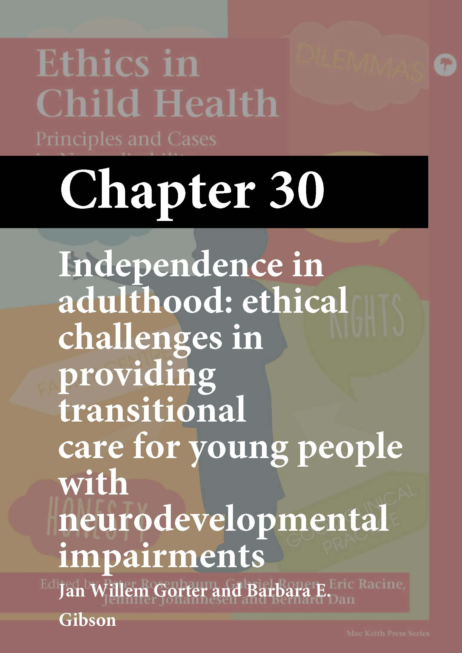 Ethics in Child Health, Rosenbaum, Chapter 30 cover