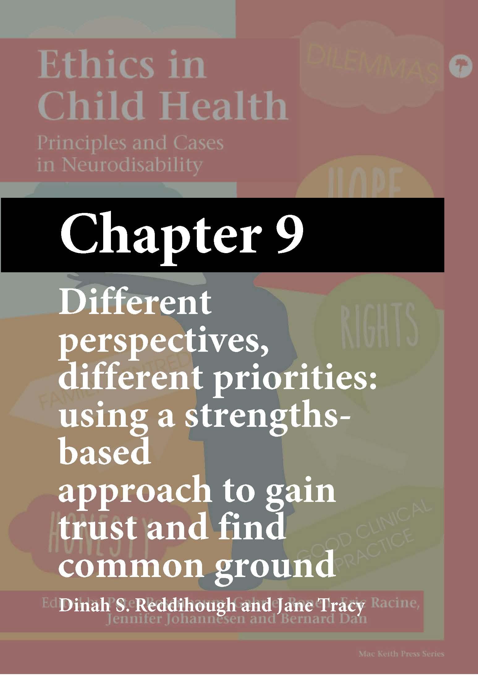 Ethics in Child Health, Rosenbaum, Chapter 9 cover