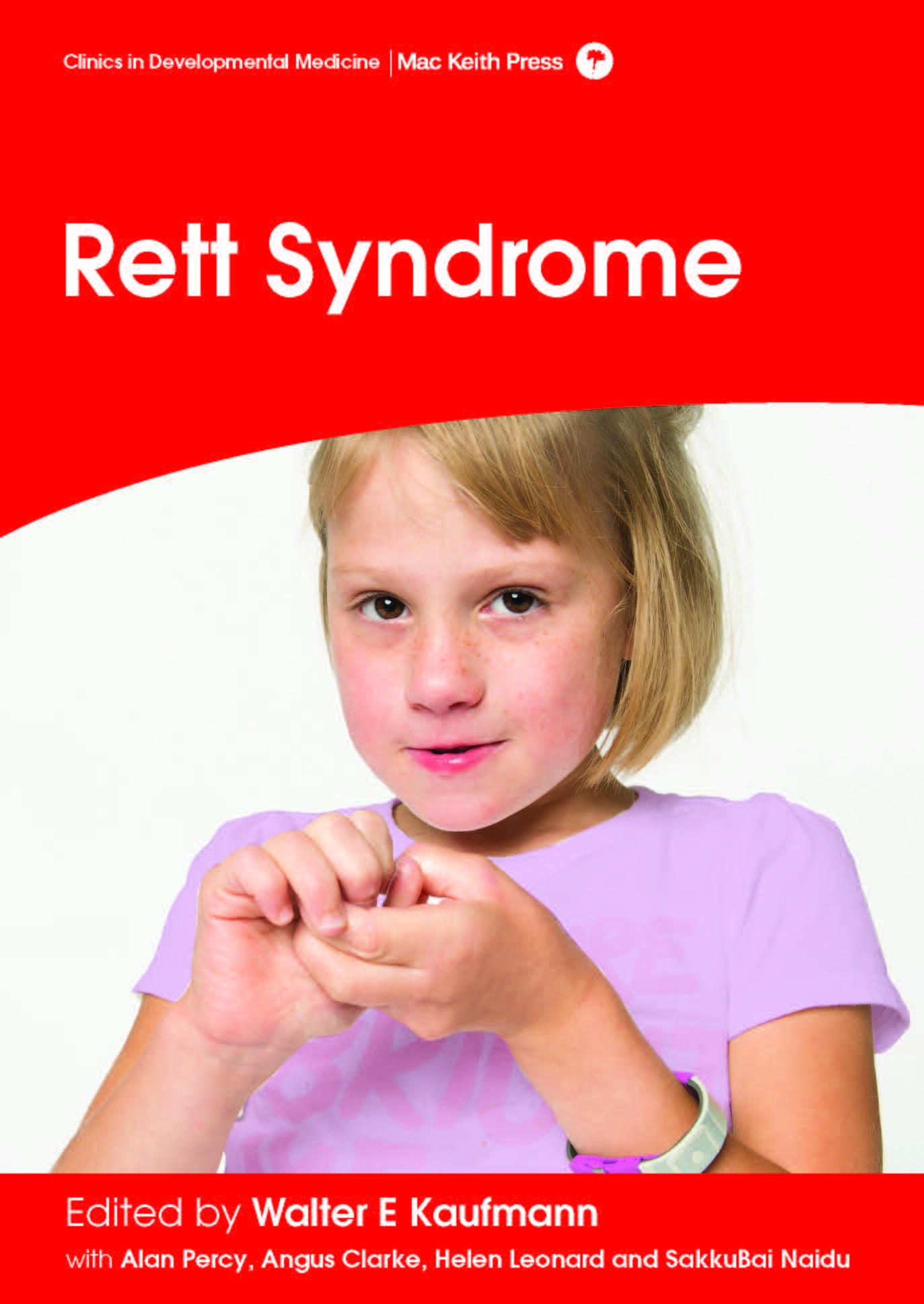 Mac Keith Press Rett Syndrome book by Kaufmann cover