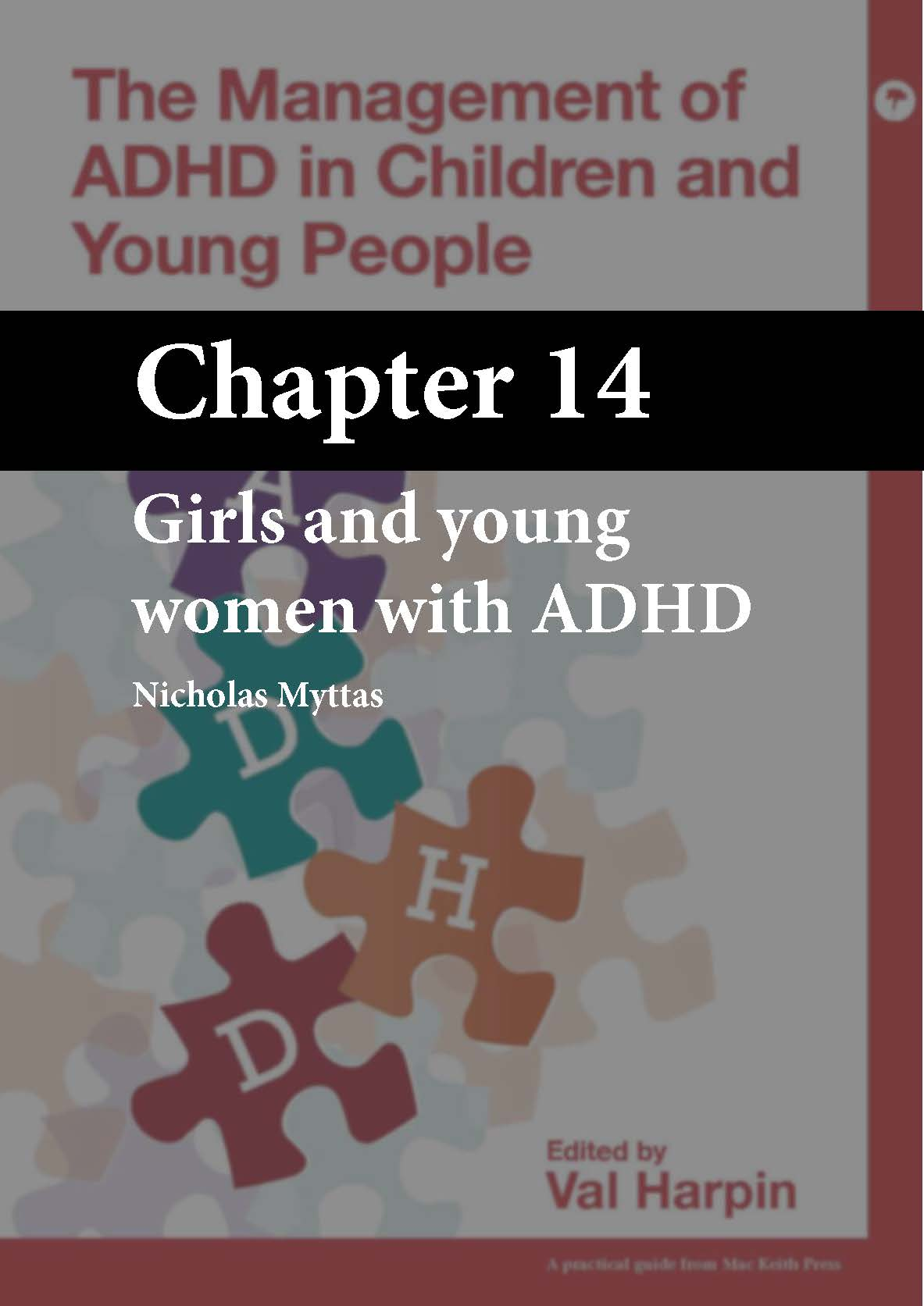 The Management of ADHD in Children and Young People, Harpin, Chapter 14 cover