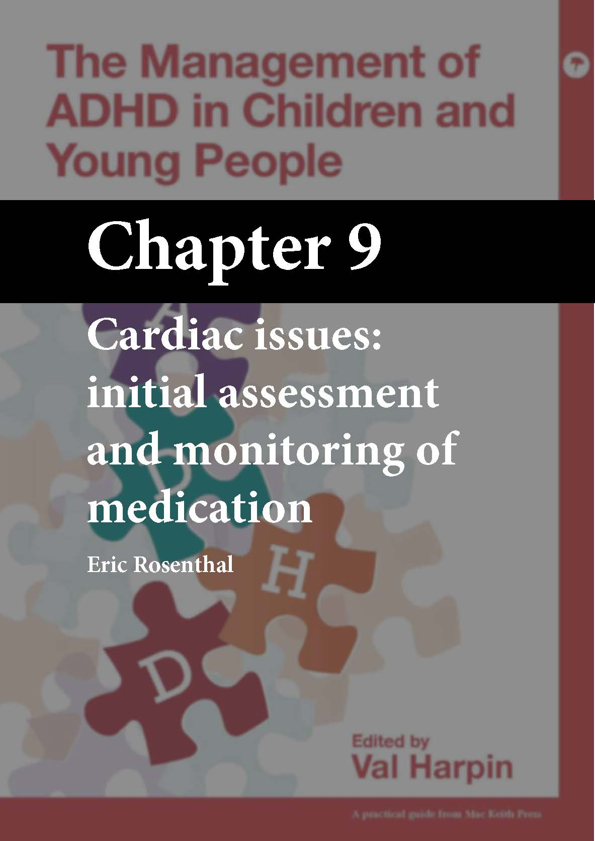 The Management of ADHD in Children and Young People, Harpin, Chapter 9 cover