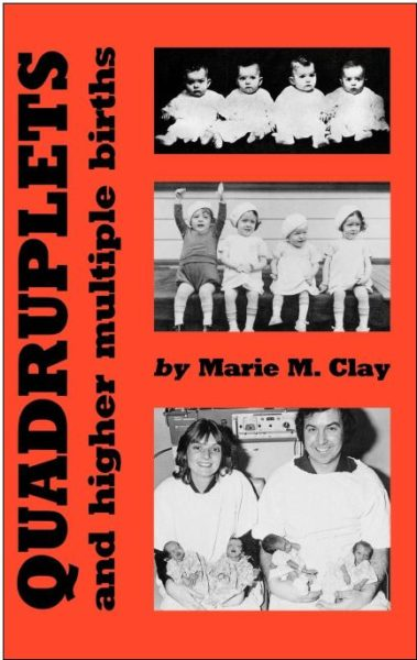 Quadruplets and Higher Multiple Births, Clay, cover