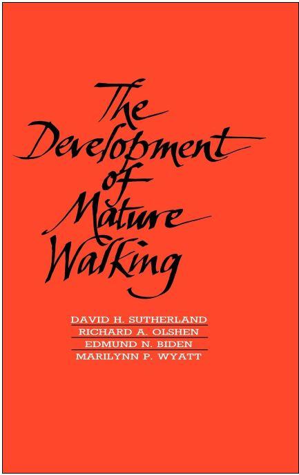 Development of Mature Walking, Sutherland, cover