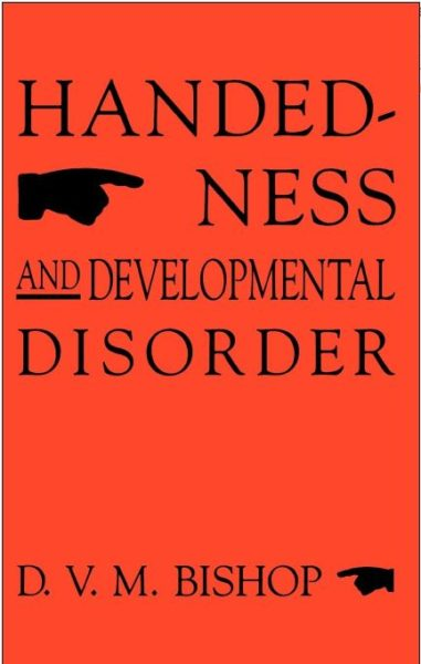 Handedness and Developmental Disorder, Bishop, cover