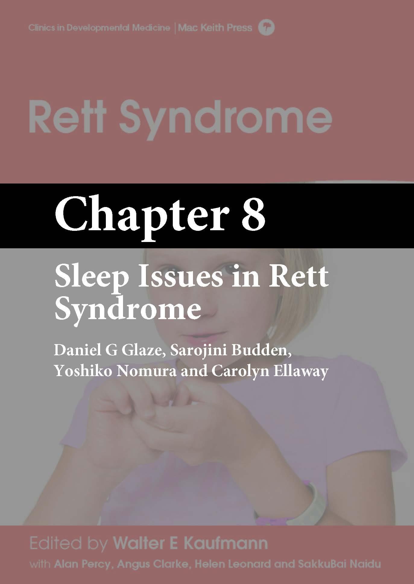 Rett Syndrome, Kaufmann, Chapter 8 cover