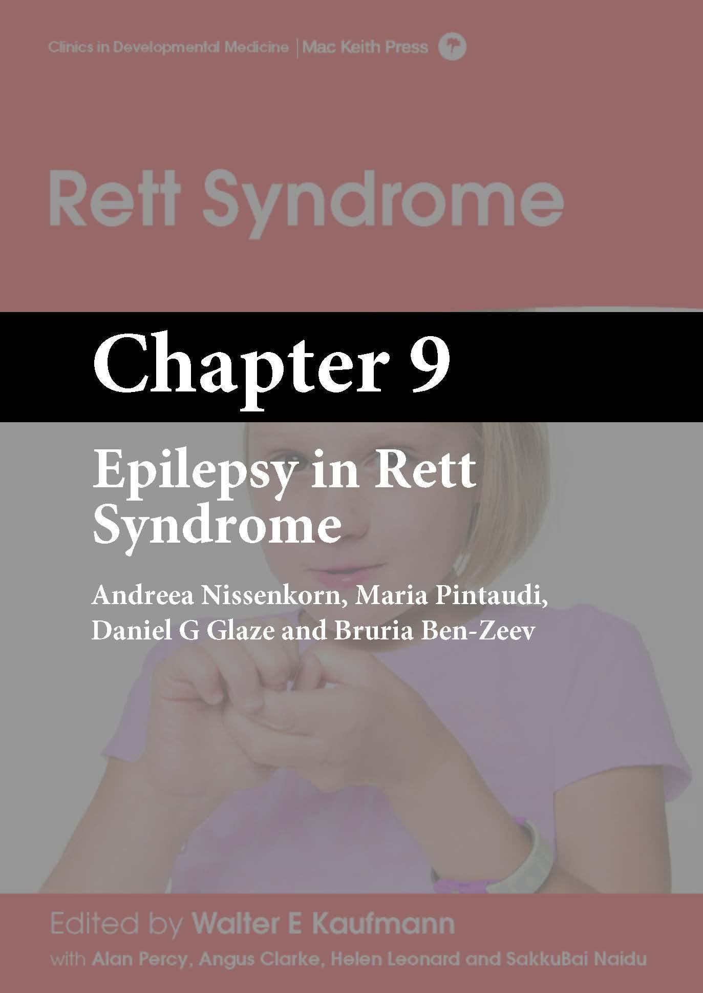 Rett Syndrome, Kaufmann, Chapter 9 cover