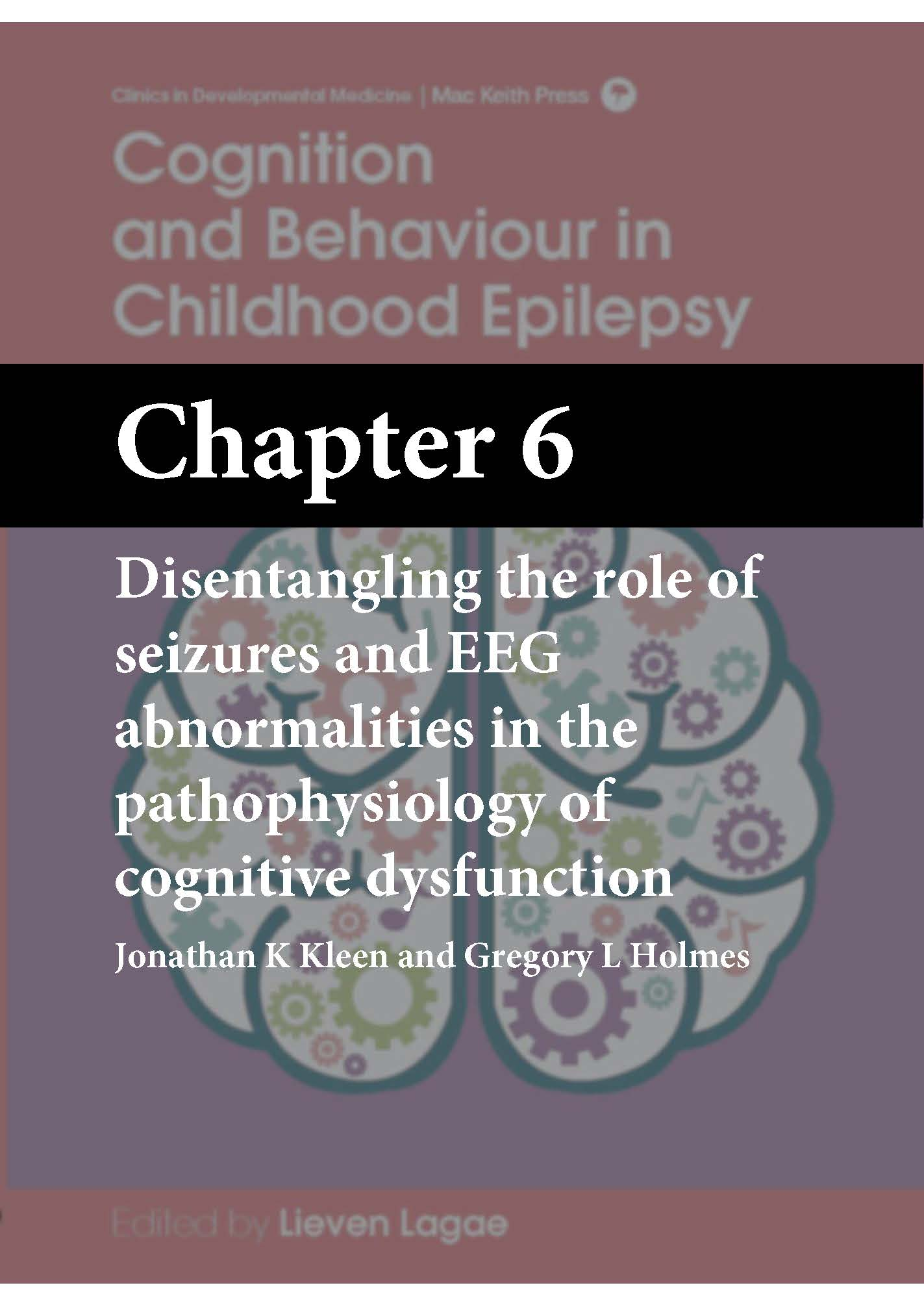 Cognition and Behaviour in Childhood Epilepsy, Lagae, Chapter 6 cover