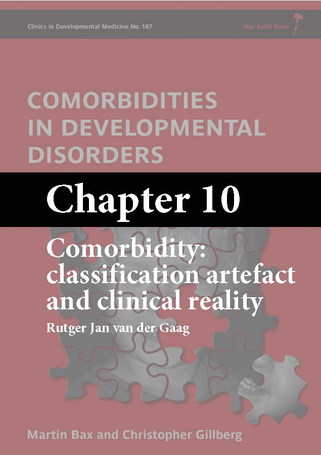 Comorbidities in Developmental Disorders, Bax, Chapter 10 cover