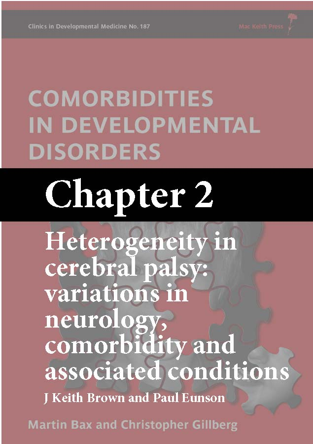 Comorbidities in Developmental Disorders, Bax, Chapter 2 cover