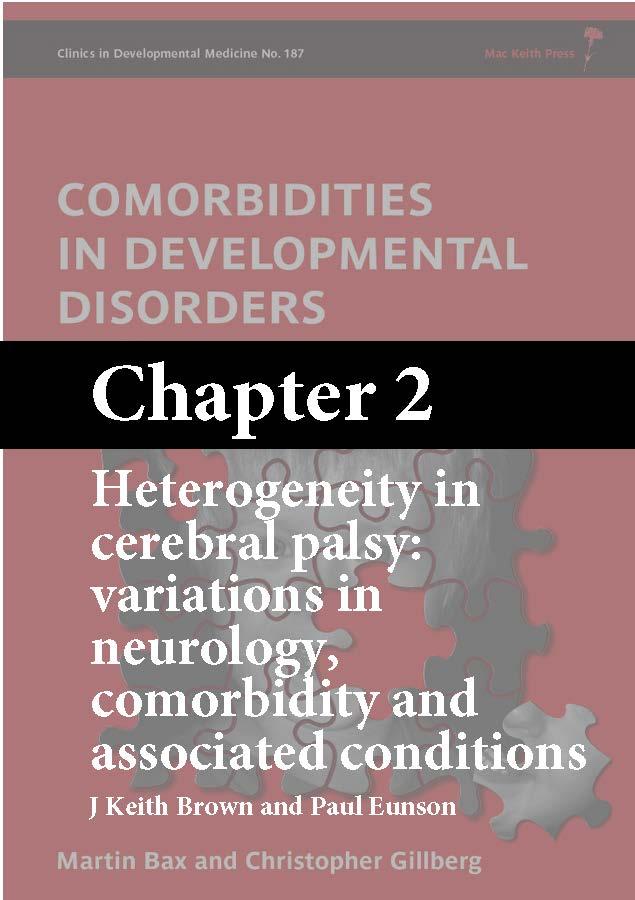 Comorbidities in Developmental Disorders, Bax, Chapter 2 cover