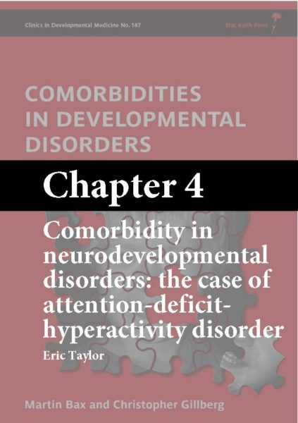 Comorbidities in Developmental Disorders, Bax, Chapter 4 cover