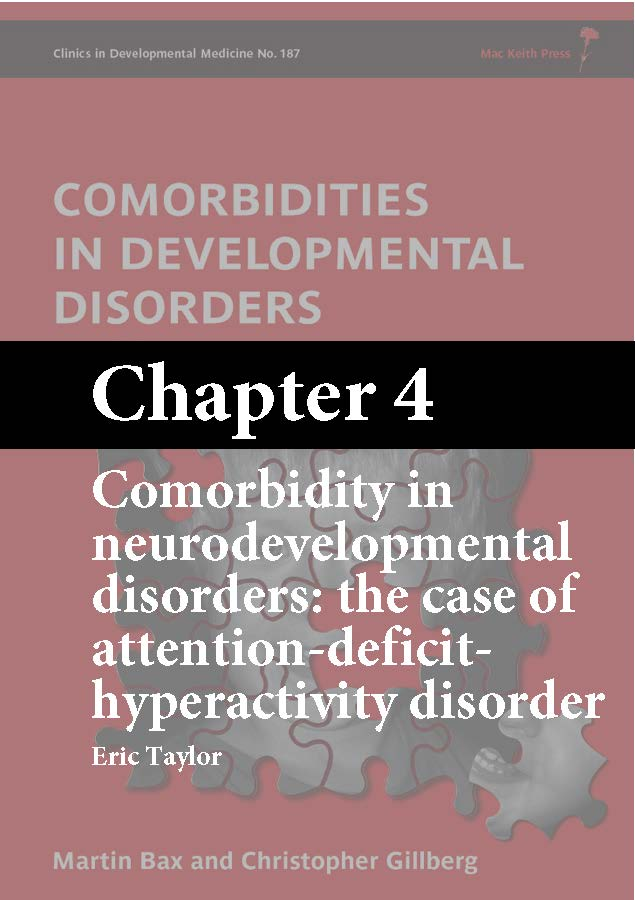 Comorbidities in Developmental Disorders, Bax, Chapter 4 cover