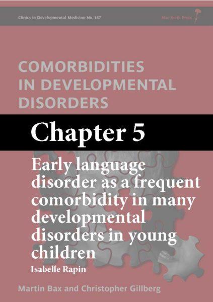 Comorbidities in Developmental Disorders, Bax, Chapter 5 cover