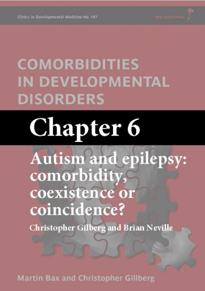 Comorbidities in Developmental Disorders, Bax, Chapter 6 cover