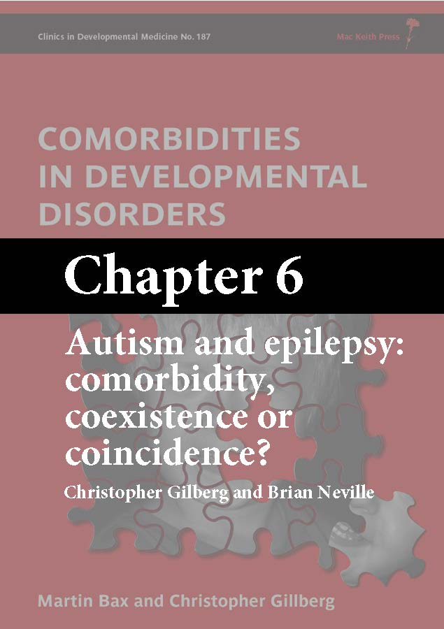 Comorbidities in Developmental Disorders, Bax, Chapter 6 cover